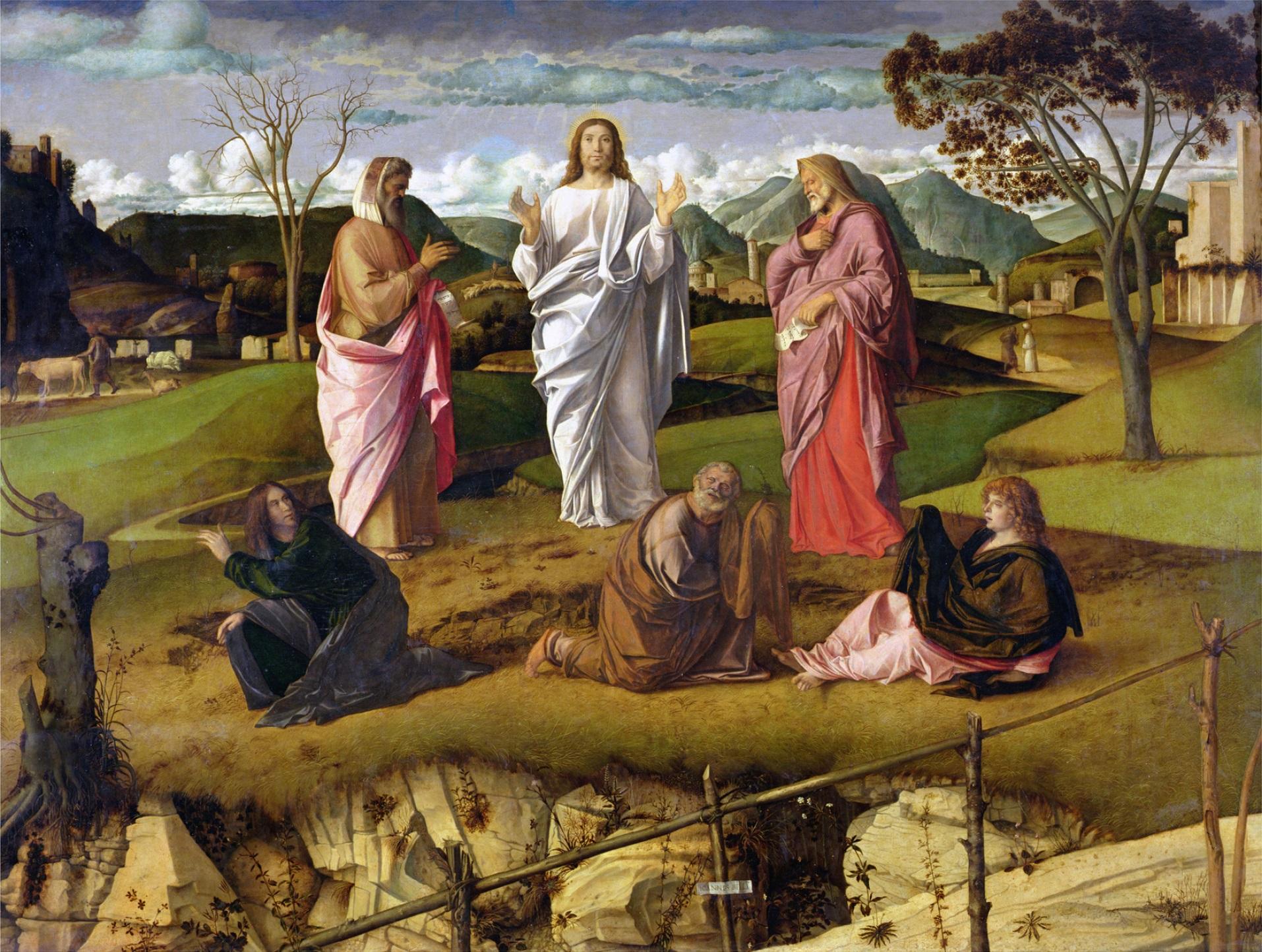 Giovanni Bellini's The Transfiguration