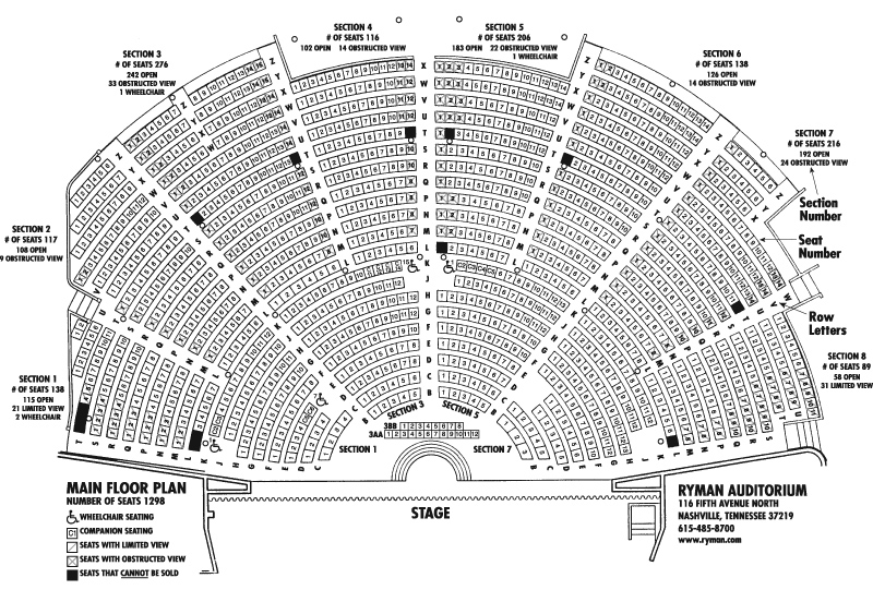 Auditorium seating chart template 2